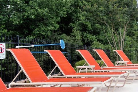Plenty of Poolside Seating
